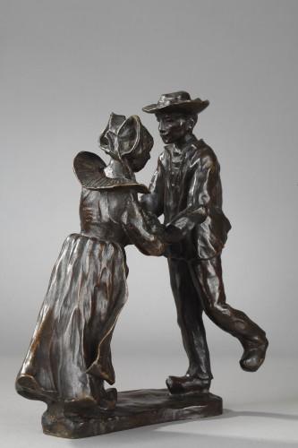 Sculpture  - Breton Dance - François-Rupert Carabin (1860-1939)
