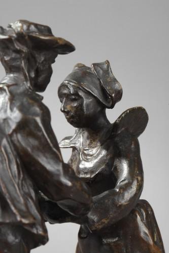 20th century - Breton Dance - François-Rupert Carabin (1860-1939)