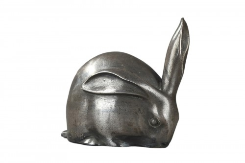 Rabbit with a raised ear - Edouard-Marcel SANDOZ (1881-1971)