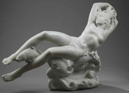 Sculpture  - The Sea - Giulio TAMASSY (XXe s.)
