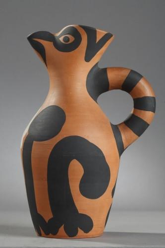 """""""Yan"""" Jug - Pablo PICASSO (1881-1973) - Porcelain & Faience Style 50"""