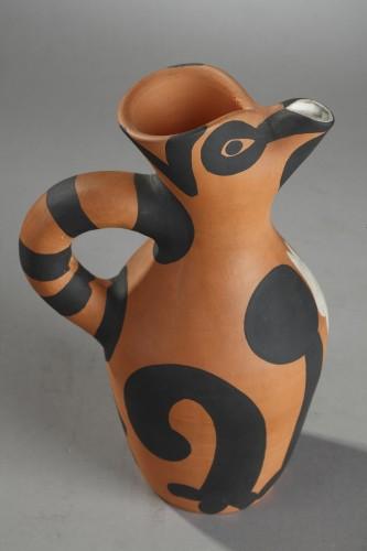 """Porcelain & Faience  - """"Yan"""" Jug - Pablo PICASSO (1881-1973)"""