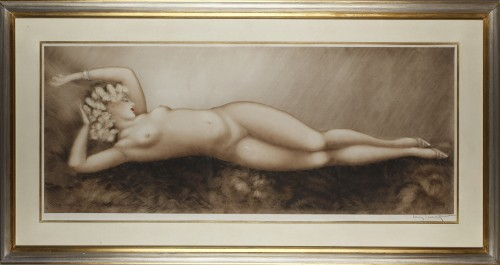 Sleep - Lithograph by Louis ICART (1888-1950)