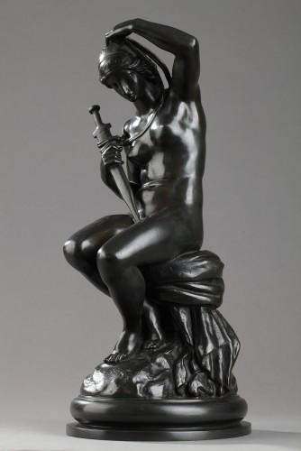 Minerva - Antoine-Louis BARYE (1796-1875) - Sculpture Style Napoléon III