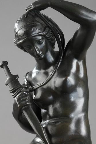 Sculpture  - Minerva - Antoine-Louis BARYE (1796-1875)