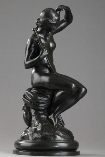19th century - Minerva - Antoine-Louis BARYE (1796-1875)