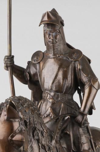 Louis, Duke of Orléans - Emmanuel FREMIET (1824-1910) - Sculpture Style Napoléon III