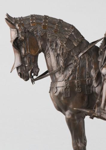Sculpture  - Louis, Duke of Orléans - Emmanuel FREMIET (1824-1910)
