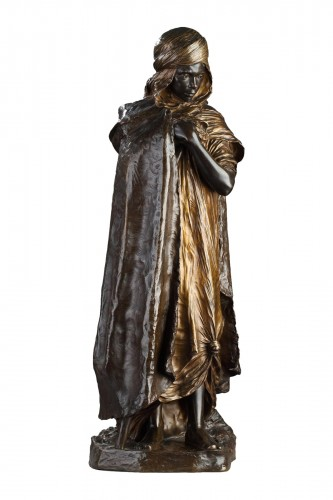 Aïn-Regada, young Arab shepherd - Marius-Joseph SAIN (1877-1961)