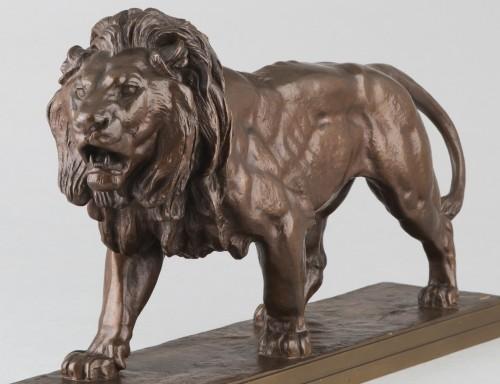 Walking Lion - Antoine-Louis BARYE (1796-1875) -