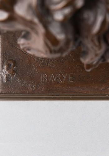 19th century - Walking Lion - Antoine-Louis BARYE (1796-1875)