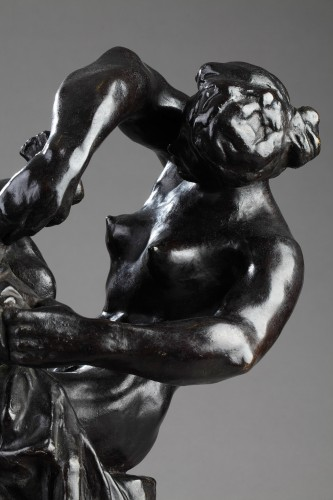 Baby's Wash - Alfred PINA (1887-1966) - Sculpture Style Art Déco