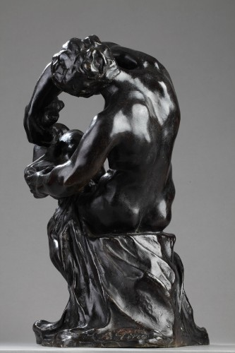 Sculpture  - Baby's Wash - Alfred PINA (1887-1966)