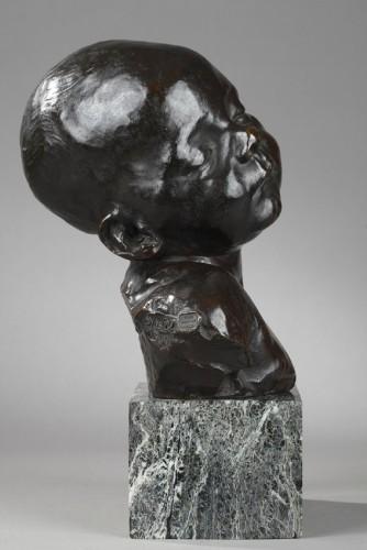 Sculpture  - Baby asleep - Aimé-Jules DALOU (1838-1902)