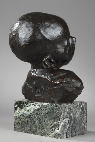 Baby asleep - Aimé-Jules DALOU (1838-1902) -