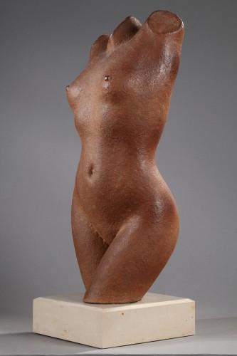 Sculpture  - Woman bust - Marcel GIMOND (1894-1961)