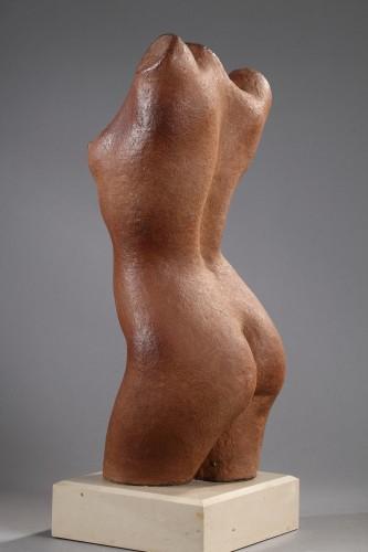 Woman bust - Marcel GIMOND (1894-1961) -