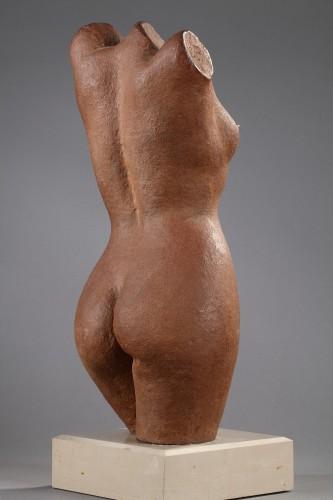 Woman bust - Marcel GIMOND (1894-1961) - Art Déco