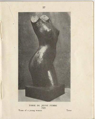 Antiquités - Woman bust - Marcel GIMOND (1894-1961)