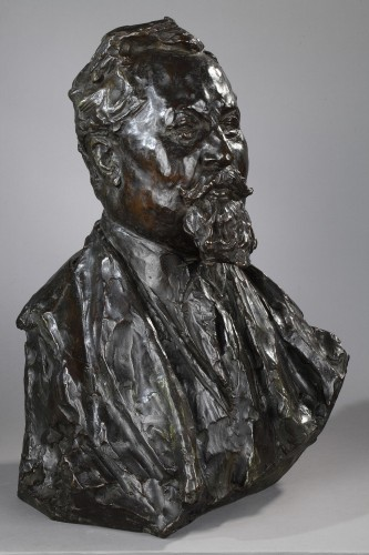 Sculpture  - Portrait of Albert Dubarry - Léon-Ernest DRIVIER (1878-1951)