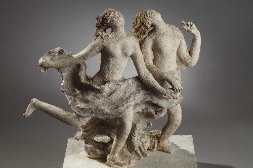 Printemps - Alfred JANNIOT (1889-1969) - Sculpture Style Art Déco