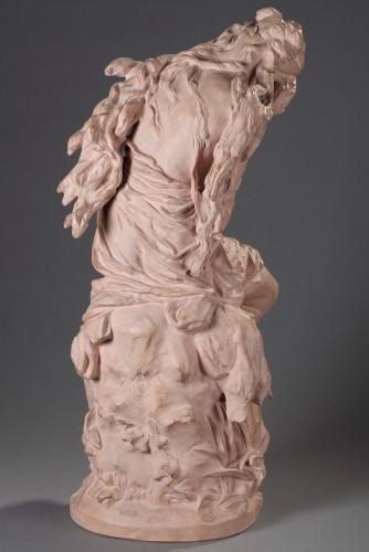 Suzanne surprised - Jean-Baptiste CARPEAUX (1827-1875) - Sculpture Style Napoléon III