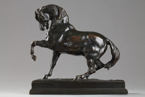 19th century - Turkish horse - Antoine-Louis BARYE (1796-1875)