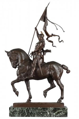 Equestrian Joan of Arc - Emmanuel FREMIET (1824-1910)