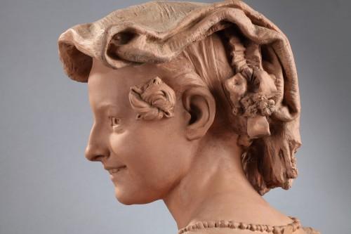 Sculpture  - Rieuse Napolitaine - Jean-Baptiste CARPEAUX (1827-1875)