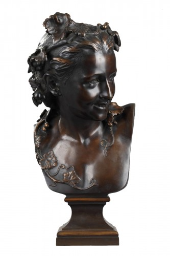 """L'Espiègle"" known as Anna Foucart - Jean-Baptiste Carpeaux (1827-1875)"