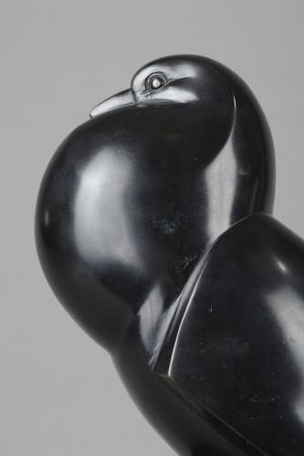 Flat-tailed Pigeon - Jan et Joël MARTEL (1896-1966) - Art Déco