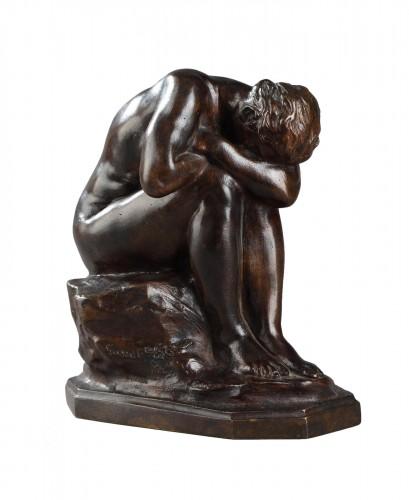 The broken Mirror or The Unknown Truth - Aimé-Jules DALOU (1838-1902)