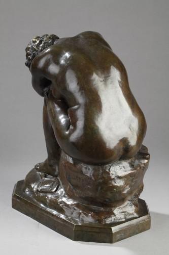 The broken Mirror or The Unknown Truth - Aimé-Jules DALOU (1838-1902) -