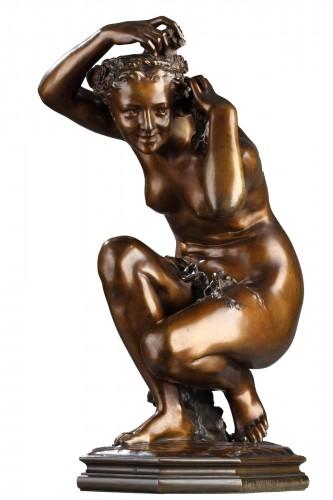"""""""Flora crouching"""" - Jean-Baptiste Carpeaux (1827-1875)"""