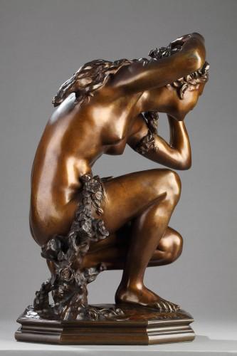 """""""Flora crouching"""" - Jean-Baptiste Carpeaux (1827-1875) - Sculpture Style"""