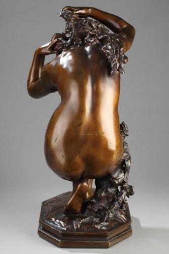 """Sculpture  - """"Flora crouching"""" - Jean-Baptiste Carpeaux (1827-1875)"""