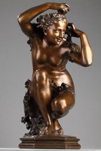 "19th century - ""Flora crouching"" - Jean-Baptiste Carpeaux (1827-1875)"