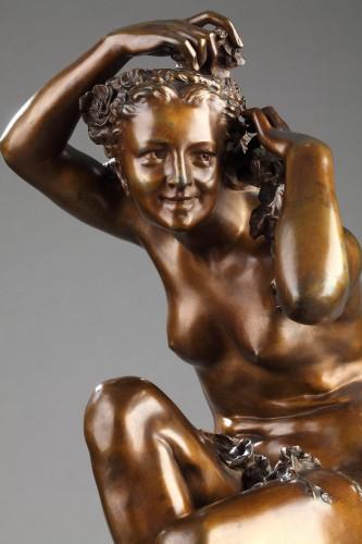 """""""Flora crouching"""" - Jean-Baptiste Carpeaux (1827-1875) -"""