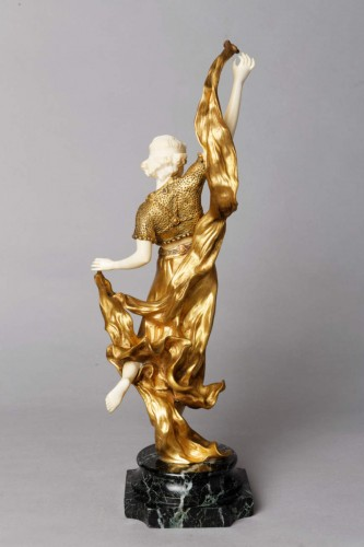 Oriental Dancer - Affortunato GORY (Active from 1895 to 1925) - Sculpture Style Art nouveau