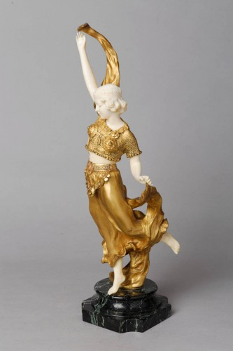 Sculpture  - Oriental Dancer - Affortunato GORY (Active from 1895 to 1925)
