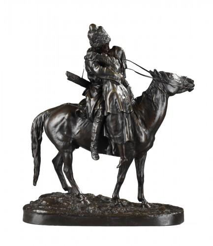 Les Adieux du Cosaque - Eugène LANCERAY (1848-1886)