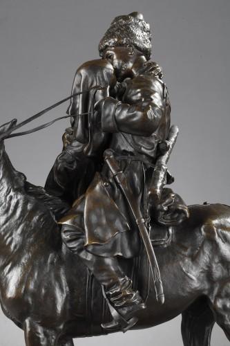 Les Adieux du Cosaque - Eugène LANCERAY (1848-1886) -