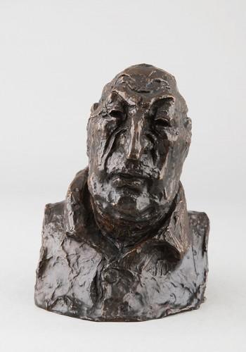François Reynaud, comte de Montlosier - Honoré DAUMIER (1808-1879) - Sculpture Style Louis-Philippe