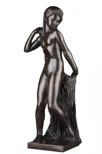 Nude with a drape - Joseph BERNARD (1866-1931)