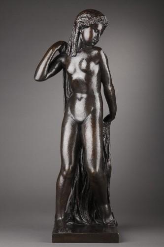 Nude with a drape - Joseph BERNARD (1866-1931) - Sculpture Style Art Déco