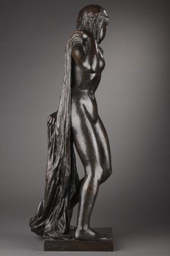 Sculpture  - Nude with a drape - Joseph BERNARD (1866-1931)