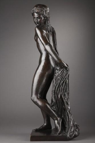 20th century - Nude with a drape - Joseph BERNARD (1866-1931)