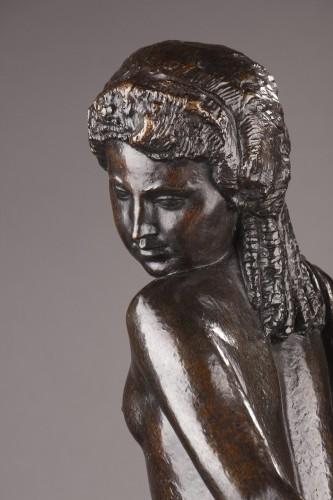 Nude with a drape - Joseph BERNARD (1866-1931) - Art Déco