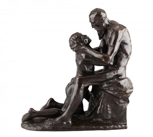 The Return of the Prodigal Son - Constantin MEUNIER (1831-1905)