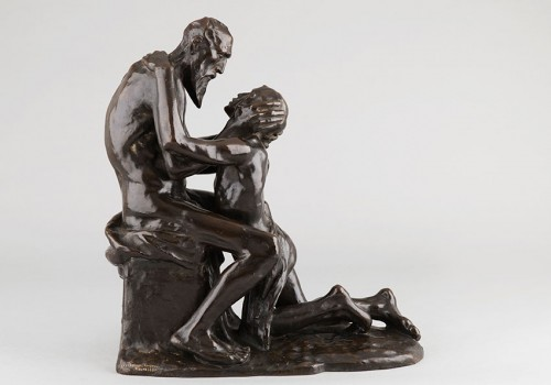 Sculpture  - The Return of the Prodigal Son - Constantin MEUNIER (1831-1905)